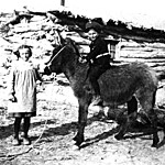 Esther and Ferol Stanley at Wolfe Ranch