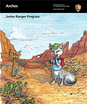 Arches Junior Ranger booklet