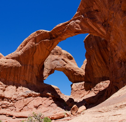 Double Arch in the Windows.
