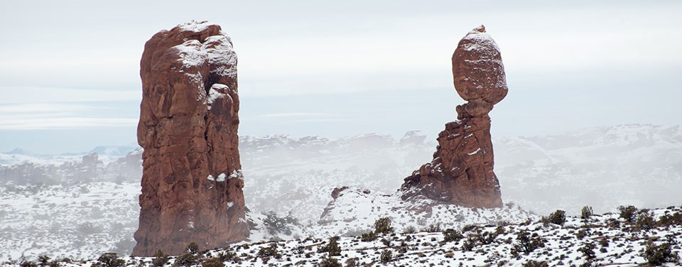 Visiting In Winter Arches National Park U S National