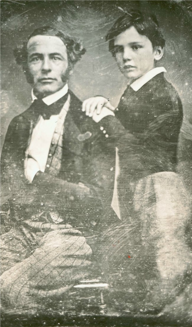 Robert E. Lee and Rooney Lee