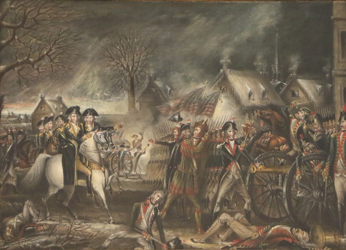The Battle of Trenton by GWP Custis
