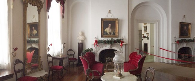 white parlor