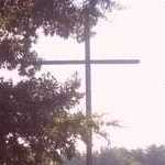 Replica Cross at Post Bend Lake