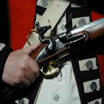 1783 British uniform and musket