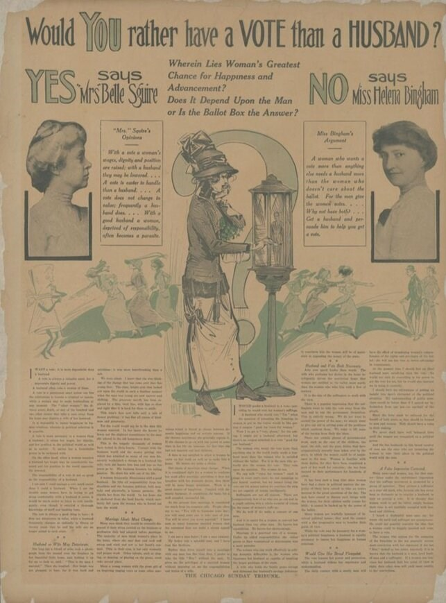 Queer Women Powered the Suffrage Movement