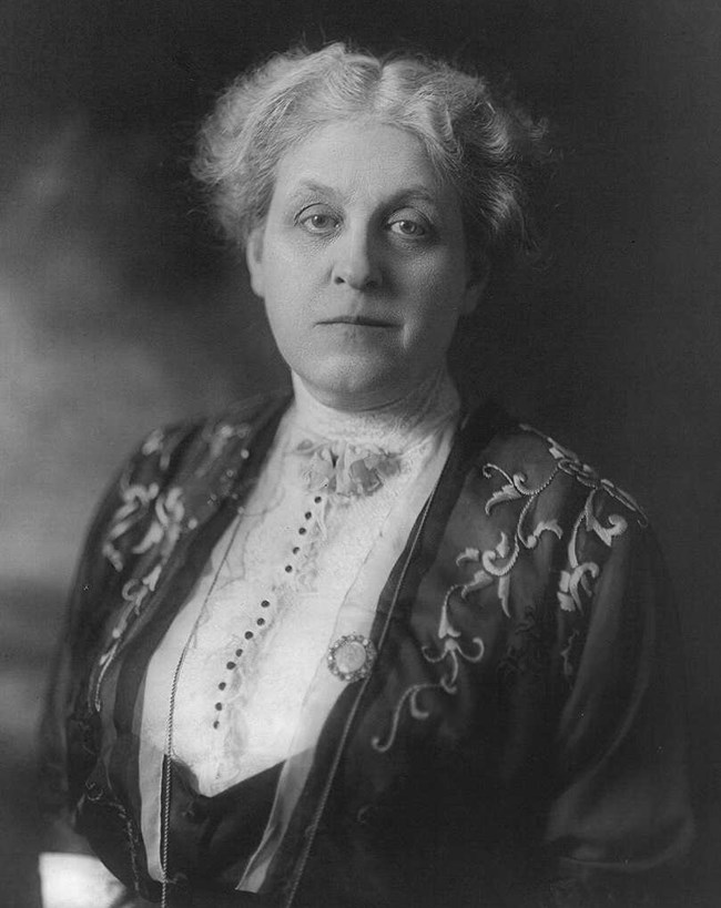 portrait of Carrie Chapman Catt from the Library of Congress