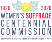 Womens Suffrage Centennial Commission Logo