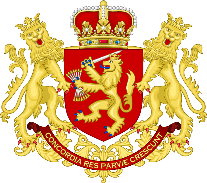 Coat of Arms of the United Provinces of the Netherlands