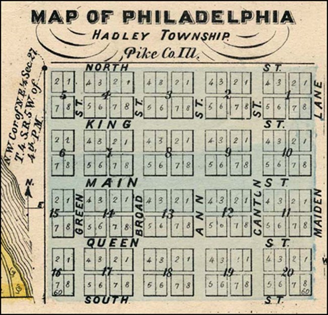 Plat of New Philadelphia