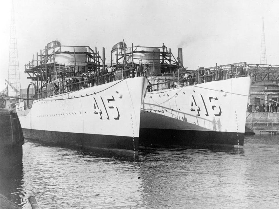 The Boston Navy Yard During World War Ii Us National Park Service