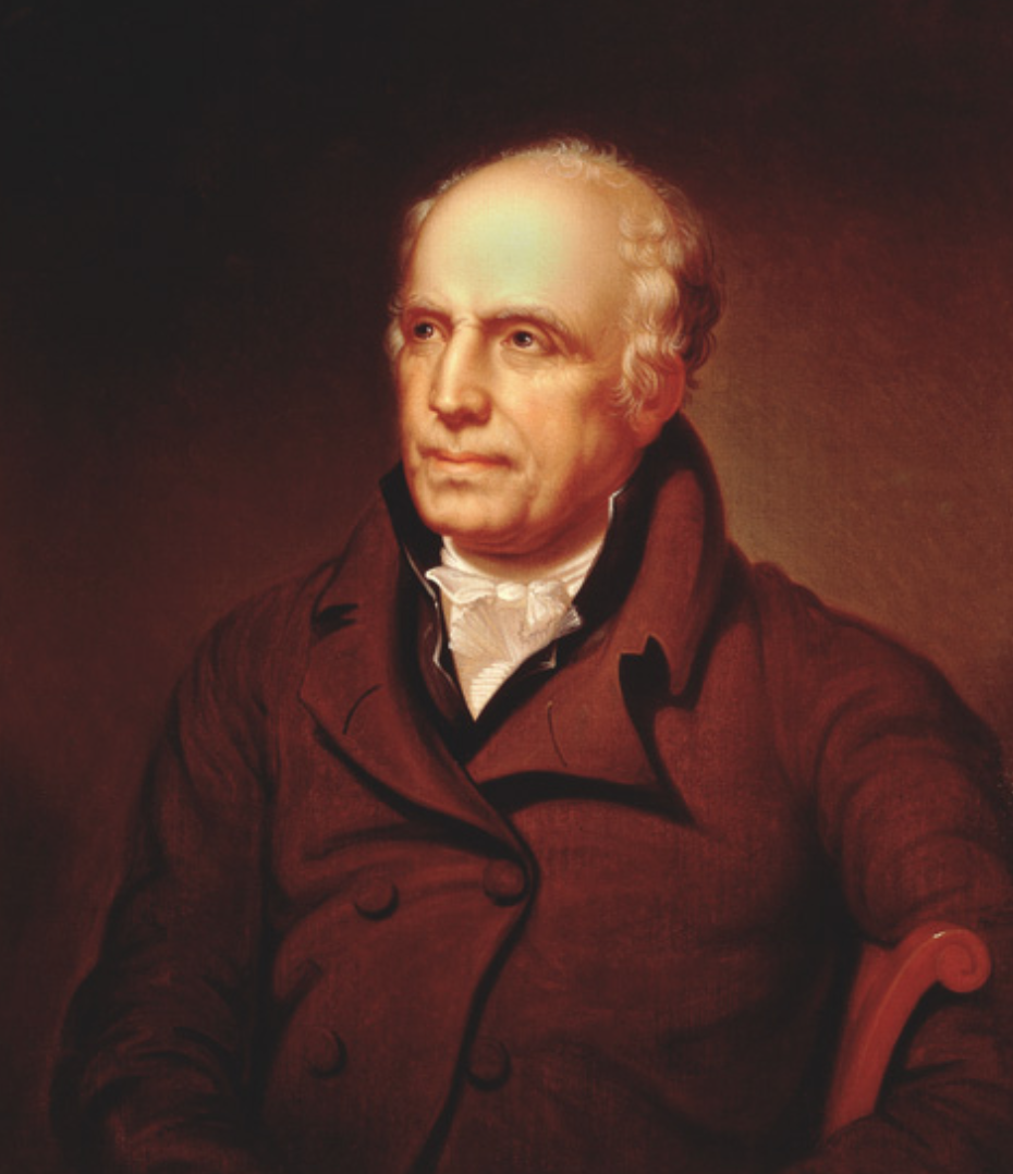 Painting of Robert Patterson