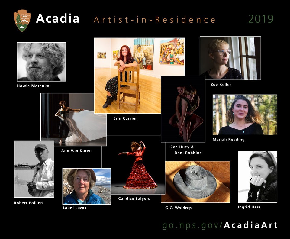 National Park Service to host 15 Artists-in-Residence at Acadia