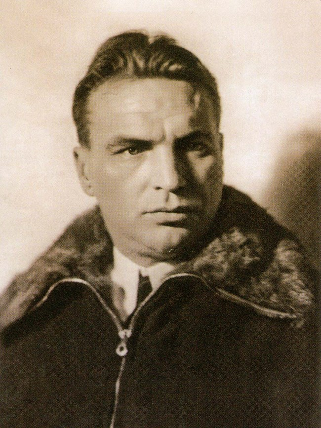 Portrait of Valery Chkalov