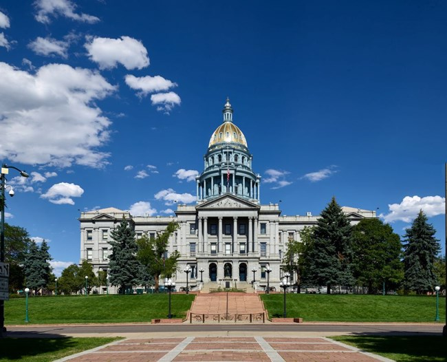 Colorado State Capitol by Highsmith LOC