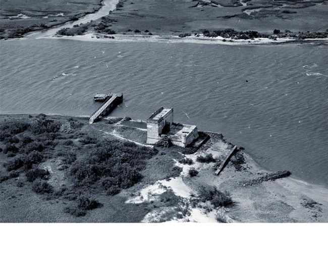 Fort Matanzas in 1947