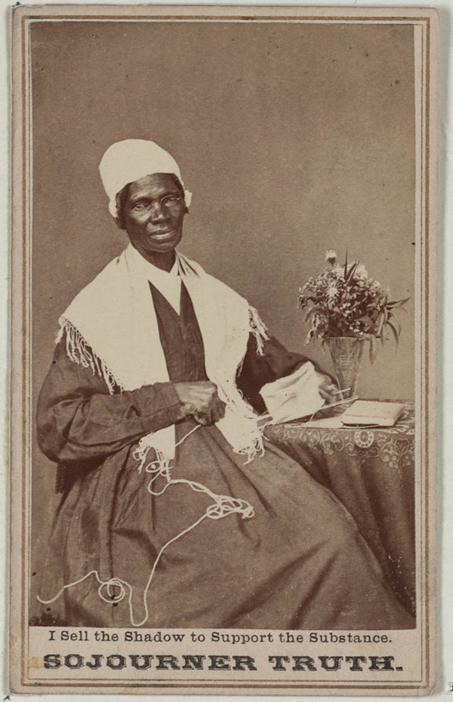 Sojourner Truth, collections Library of Congress