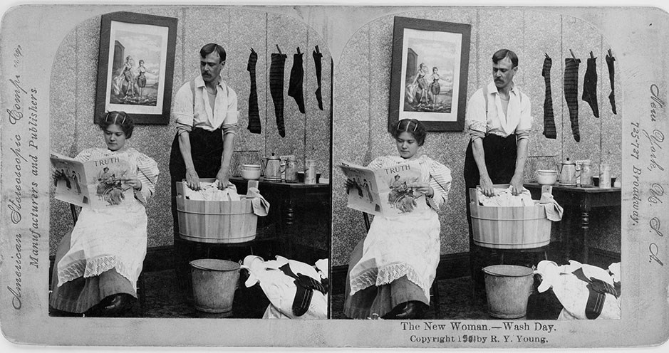 Wash Day. From the Library of Congress