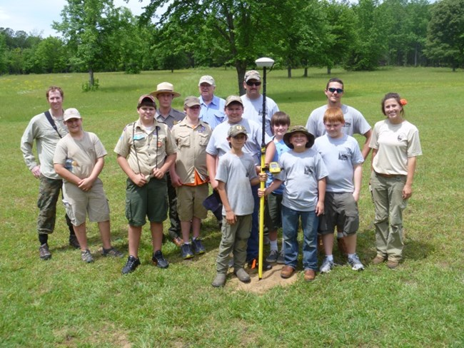 Boy Scouts Help Archeologists at COWP