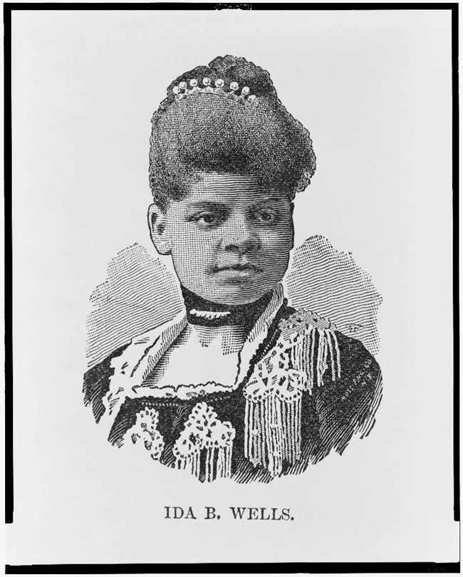 Ida B. Wells. Coll. Library of Congress