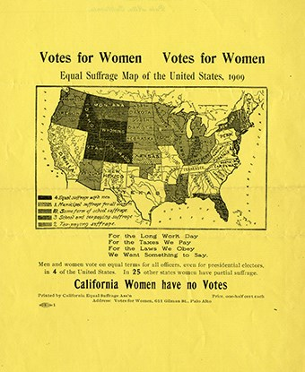 Votes for Women from Collections of Scripps College