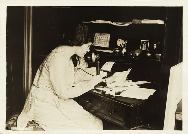Alice Paul. Coll. Library of Congress