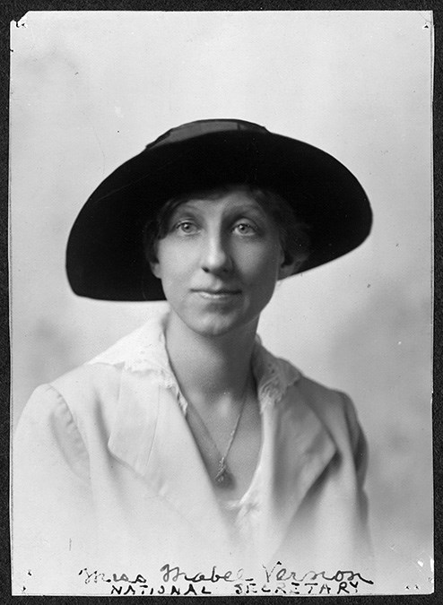 Mabel Vernon. Coll. Library of Congress