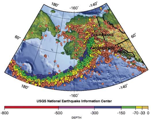 Monitoring Seismic Activity Us National Park Service - Us-seismic-activity-map