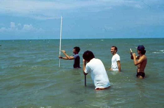 Marine vibracoring dating