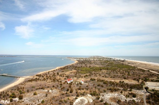 View of the Fire Island landscape