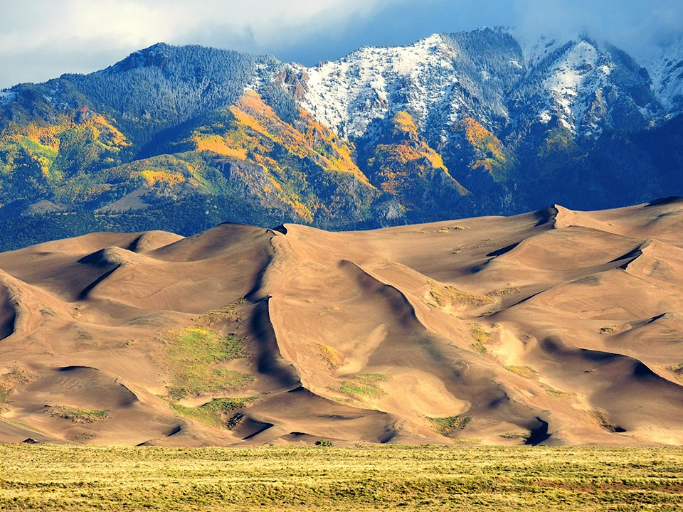Checking Great Sand Dunes Vital Signs U S National Park Service