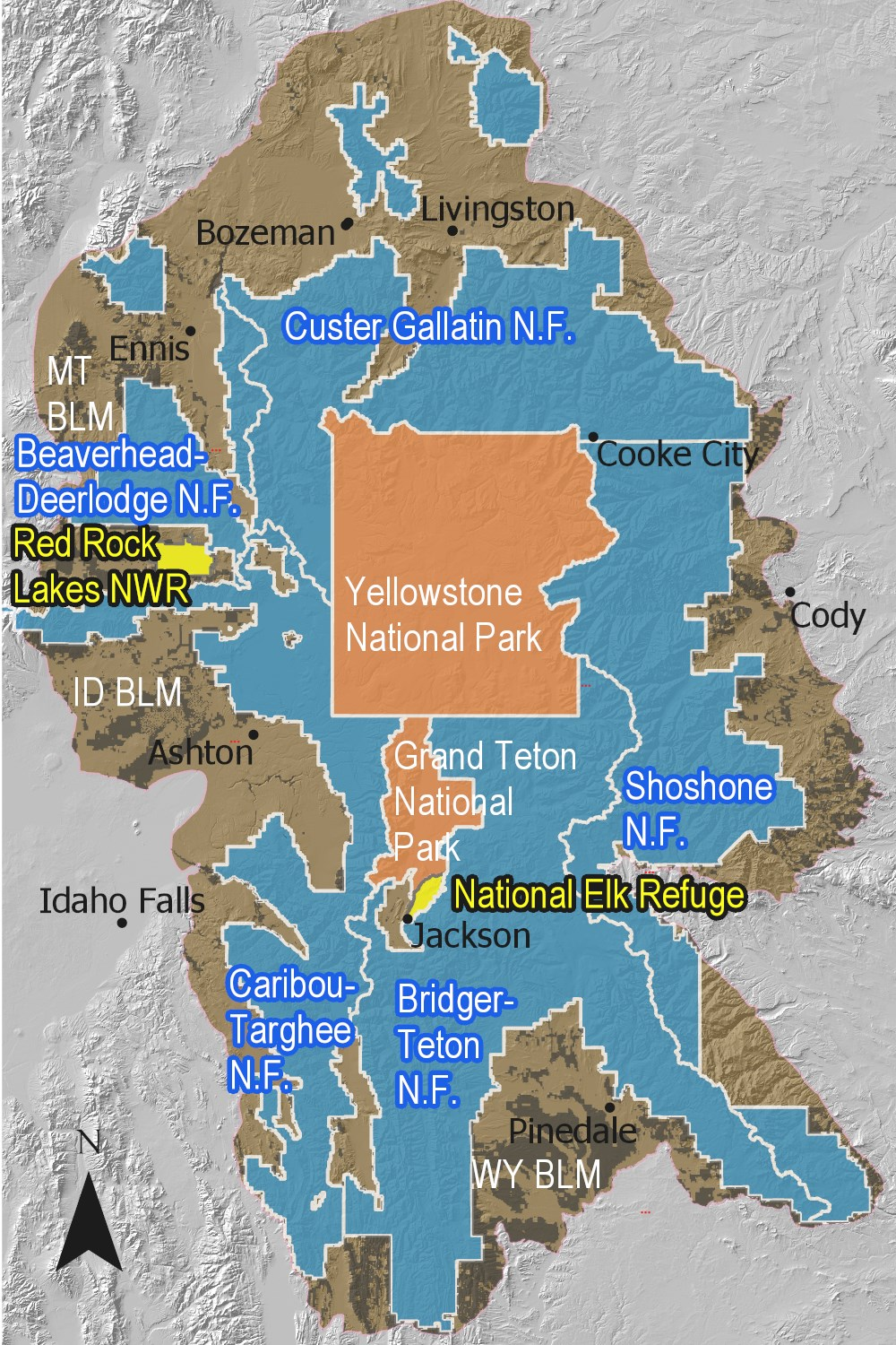 Assessing the Ecological Health of the Greater Yellowstone ...