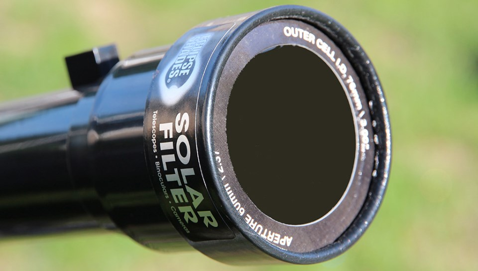 Galileoscope Solar Filter