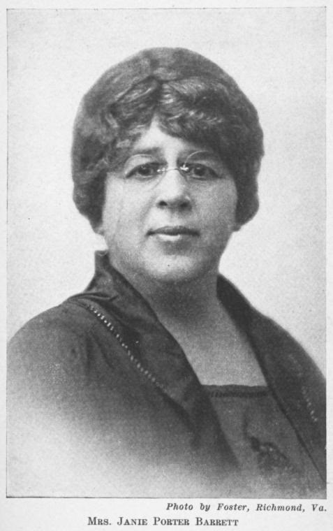 Janie Porter Barrett. Photo courtesy of the Schomburg Center for Research in Black Culture, Jean Blackwell Hutson Research and Reference Division, The New York Public Library.