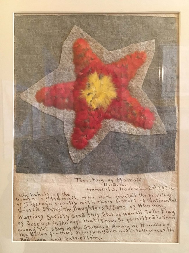 hawaii ratification star at BEPA photo by M Springate