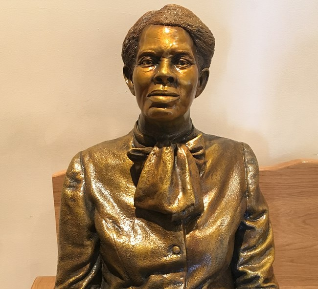 Harriet Tubman Statue at Harriet Tubman National Historical Park in Maryland. CC0