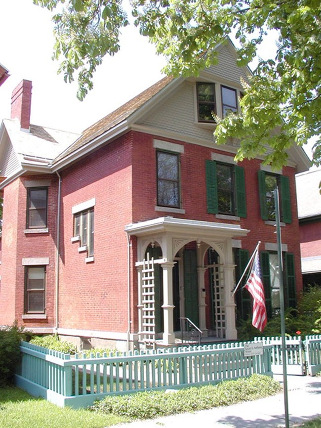 Susan B Anthony House by Charles Lenhart. NOT PUBLIC DOMAIN