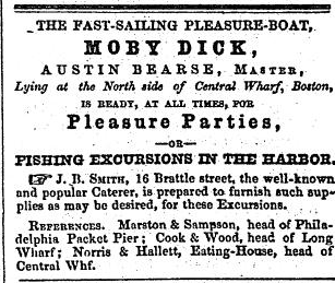 Moby Dick Advertisement from The Liberator