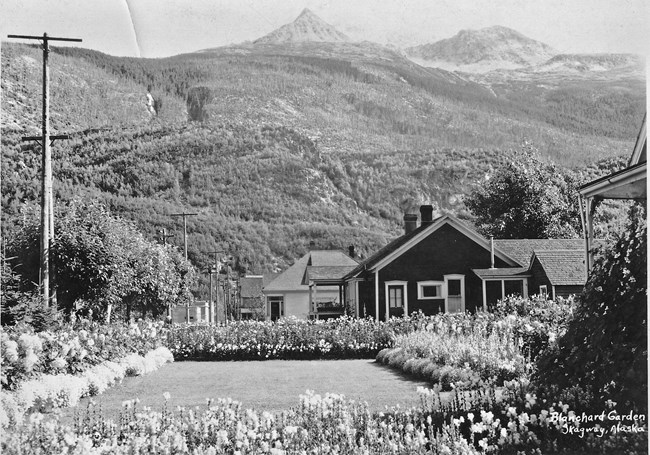 Blanchard Garden in the neighborhood of Skagway.