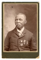Black and White photograph of African American sailor John Lawson