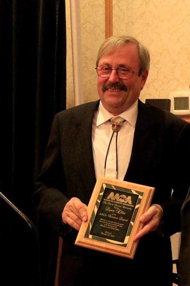 "Alaska NPS Pilot Awarded Title ""Alaska Aviation Legend"" (U S"