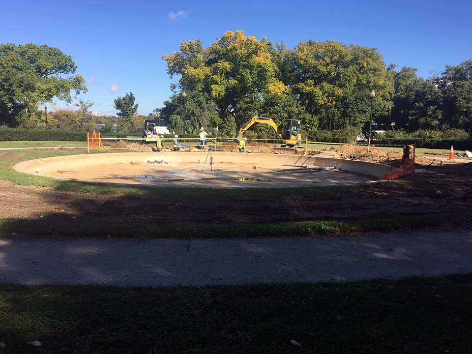 Construction work begins on restoring memorial