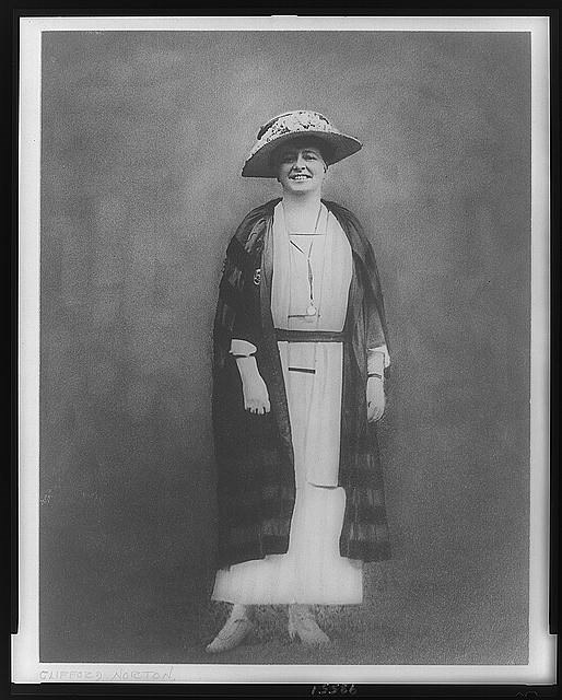 Maud Wood Park, full-length portrait, standing, facing front