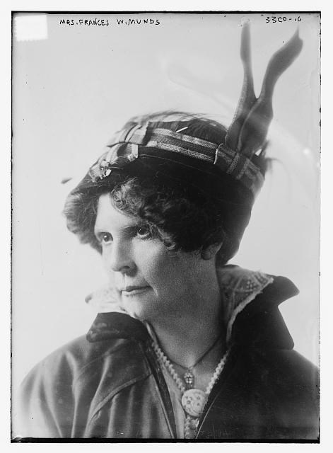 Frances Lillian Willard Munds (1866-1948), Library of Congress.
