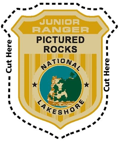 Pictured Rocks National Lakeshore Junior Ranger Badge