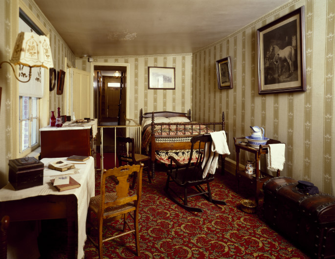 Room where Abraham Lincoln died