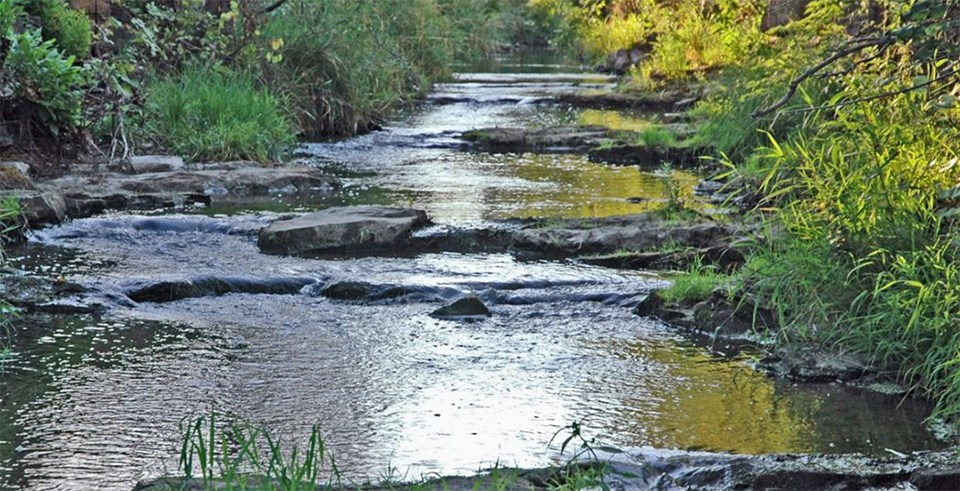 Pipestone Creek at Pipestone National Monument