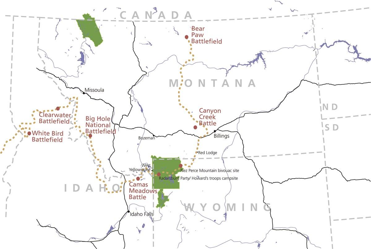 Archeology Along the Nez Perce National Historic Trail (U.S. ...