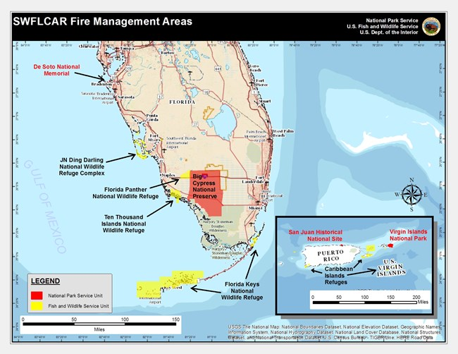 Southwest Florida and Caribbean Wildland Fire and Aviation Fire Management Area