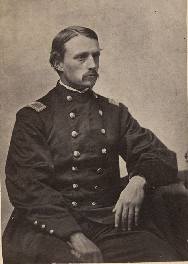 Photograph of Colonel Robert Gould Shaw